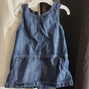 Girls jean dress